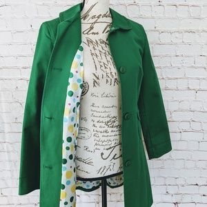 Kenneth Cole Reaction Green Coat Size Small